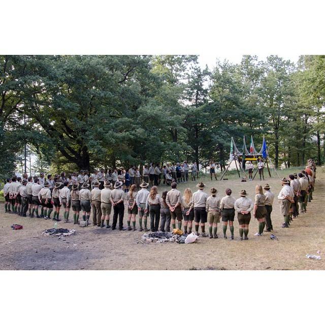 We Are a Family #assoraider #scout #wfis #cfq #cfq2014 #camposcout #clickescoteiro #soyscout #scoutgram #scoutismo #scuolacapi #scoutandproud #instacamp #instascout #campamento #italianscout #instamoment #mastio #quadrato #alzabandiera #instanature #firecamp #followscout